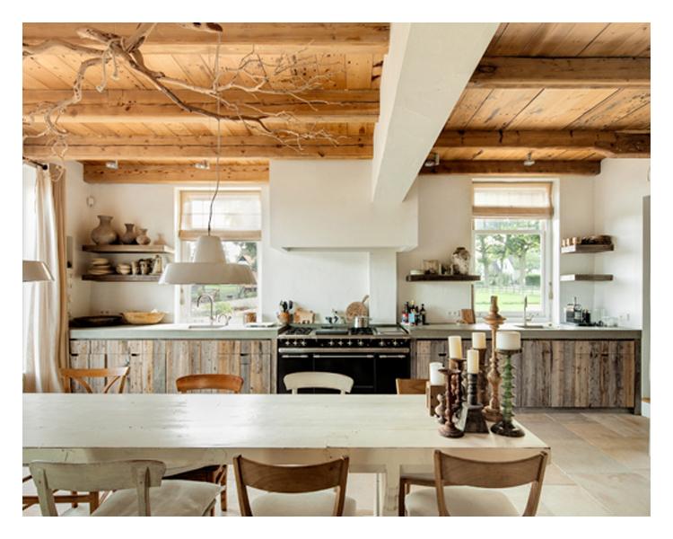 Tweedehands Cottage Keuken : Woonkeuken Boerderij : HOLLANDS ZICHT ? BOERDERIJ BLEIJENDAAL SOEST