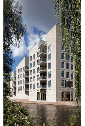 Woongebouw Oostpoort blok 7 door Hollands Zicht architectuur