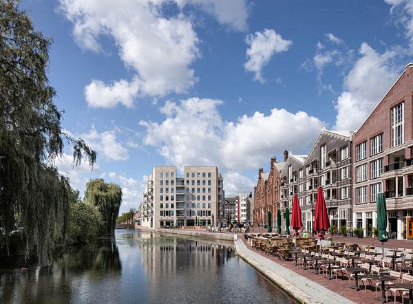 Woongebouw Oostpoort blok 7 door Hollands Zicht architecen