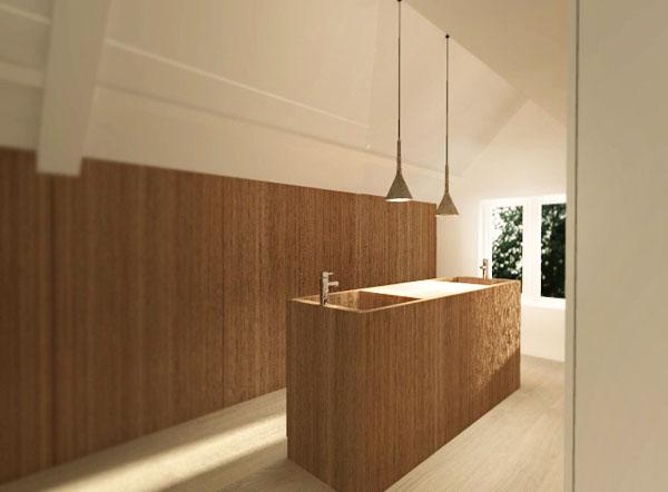 Steenenkamer - badkamer